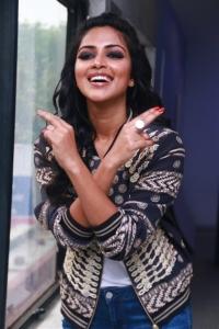 Amala Paul New Photoshoot Stills for Thiruttu Payale 2 Movie Promotions.