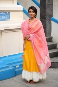 Actress Amala Paul New Pics @ Cosmos Production No 3 Movie Launch