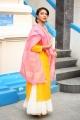 Actress Amala Paul New Pics @ Cosmos Production No 3 Movie Opening