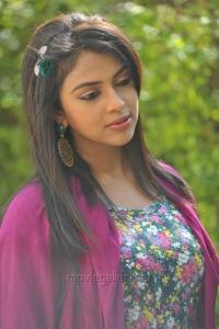 Amala Paul Stills in Pink Dress from Iddarammayilatho