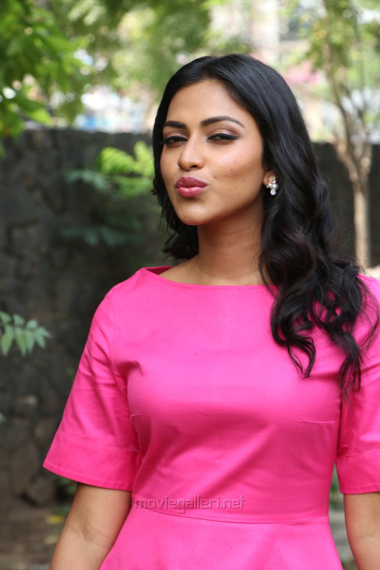 Actress Amala Paul Recent Pictures HD @ Ratsasan Success Meet