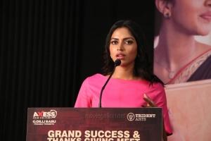 Actress Amala Paul Pictures HD @ Ratchasan Success Meet