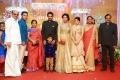 Actress Janani Iyer @ Amala Paul Director Vijay Wedding Reception Stills