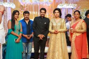 Perarasu @ Actress Amala Paul Director Vijay Wedding Reception Stills