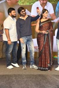 S Thaman, Ravi Teja, Ileana @ Amar Akbar Anthony Pre Release Event Stills