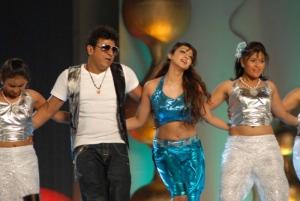 Shivaraj Kumar, Aindrita Ray at Ambarish Birthday Celebration 2012