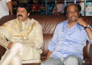 Balakrishna, Rajinikanth at Ambarish Birthday Celebration 2012