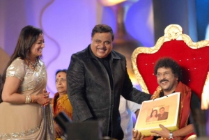 V.Ravichandran at Ambarish Birthday Celebration 2012
