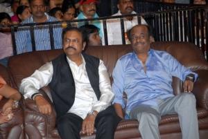 Mohanbabu, Rajinikanth at Ambareesh Birthday Celebration 2012
