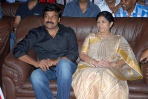 Chiranjeevi, Surekha at Ambarish Birthday Celebration 2012