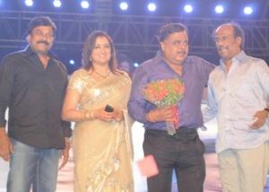 Chiranjeevi, Sumalatha, Rajini at Ambarish Birthday Celebration 2012