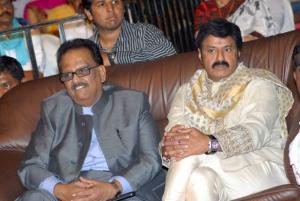SPB, Balakrishna at Ambarish Birthday Celebration 2012