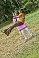 Srijith, Jothisha in Ambuli 3D Movie Stills