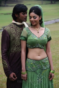 Ajay, Sanam in Ambuli Telugu Movie Stills