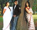 Bhumika, Arjun, Anushka in America to Aminjikarai Tamil Movie Stills