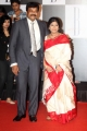 Chiranjeevi with wife Surekha at Amitabh Bachchan 70th Birthday Party Photos
