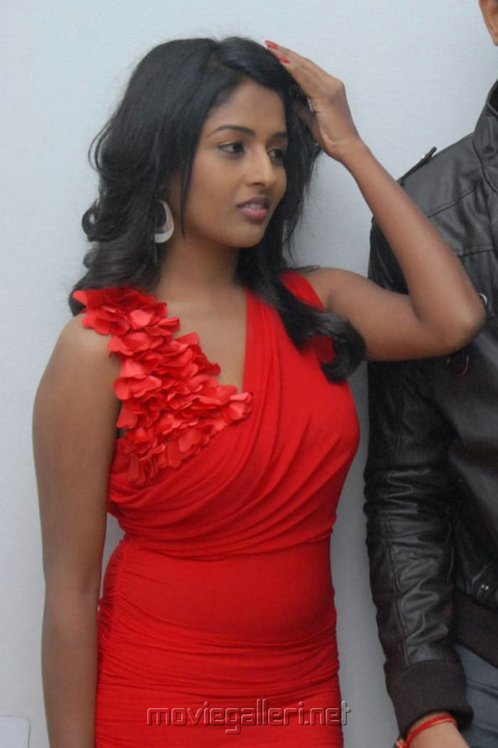 Telugu Actress Amitha Rao Hot Photos at Chemistry Audio Launch