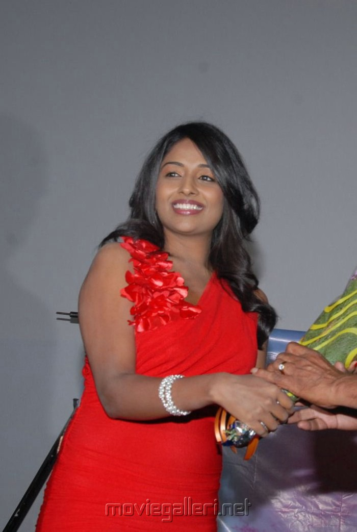 Telugu Actress Amitha Rao Hot Photos at Chemistry Audio Function