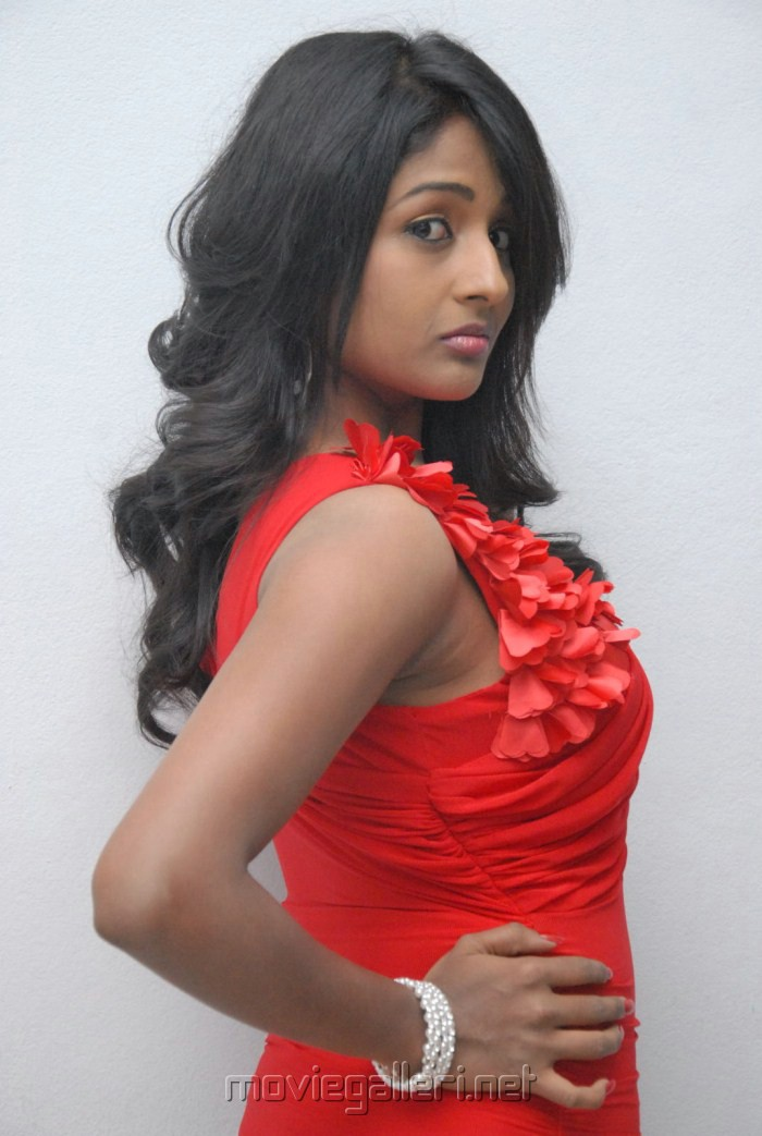 Telugu Actress Amitha Rao Hot Photos at Chemistry Audio Function