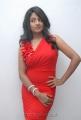 Actress Amitha Rao in Red Dress Photos
