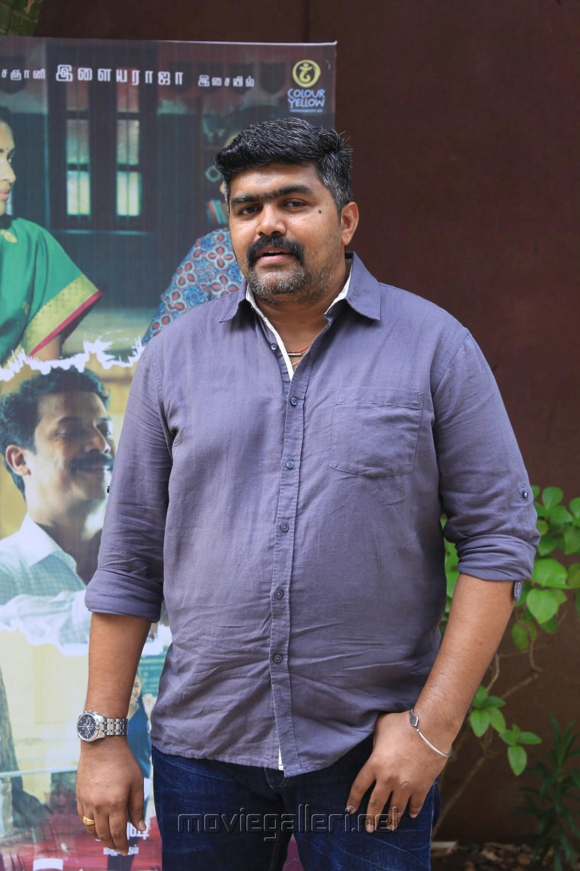 Cinematographer Gavemic U Ary @ Amma Kanakku Movie Press Meet Stills