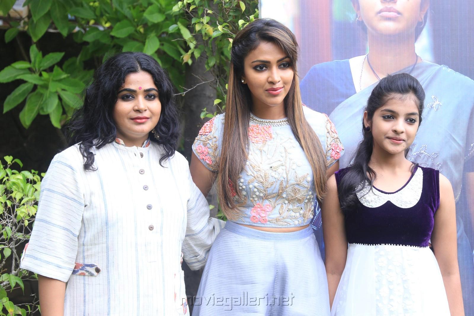 Ashwini Tiwari Iyer, Amala Paul @ Amma Kanakku Movie Press Meet Stills