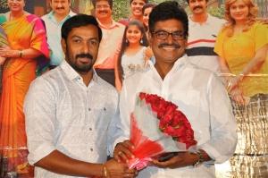 Producer Rajesh, Sivaji Raja @ Ammammagarillu Teaser Launch Photos