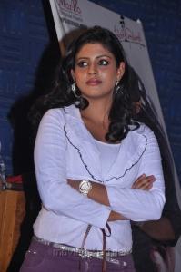 Actress Iniya at Ammavin Kaipesi Movie Press Meet Stills