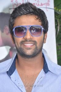 Actor Shanthanu Bhagyaraj at Ammavin Kaipesi Movie Press Meet Stills
