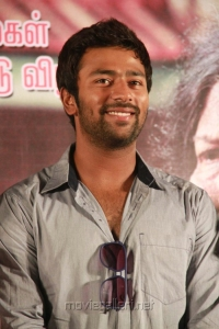 Actor Shanthanu Bhagyaraj at Ammavin Kaipesi Press Meet Stills