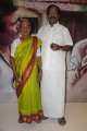 Tamilaruvi Manian with Mother at Ammavin Kaippesi Movie Audio Launch Photos