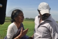 Director Thangar Bachchan at Ammavin Kaipesi Shooting Spot Stills