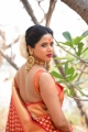 Actress Amrita Halder Saree Photos @ Idhi Nadhi Movie Launch