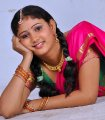 Amrutha Valli Half Saree Images