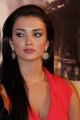 Actress Amy Jackson in Red Dress Hot Pics