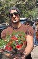 Prateik Babbar celebrates Valentine's Day