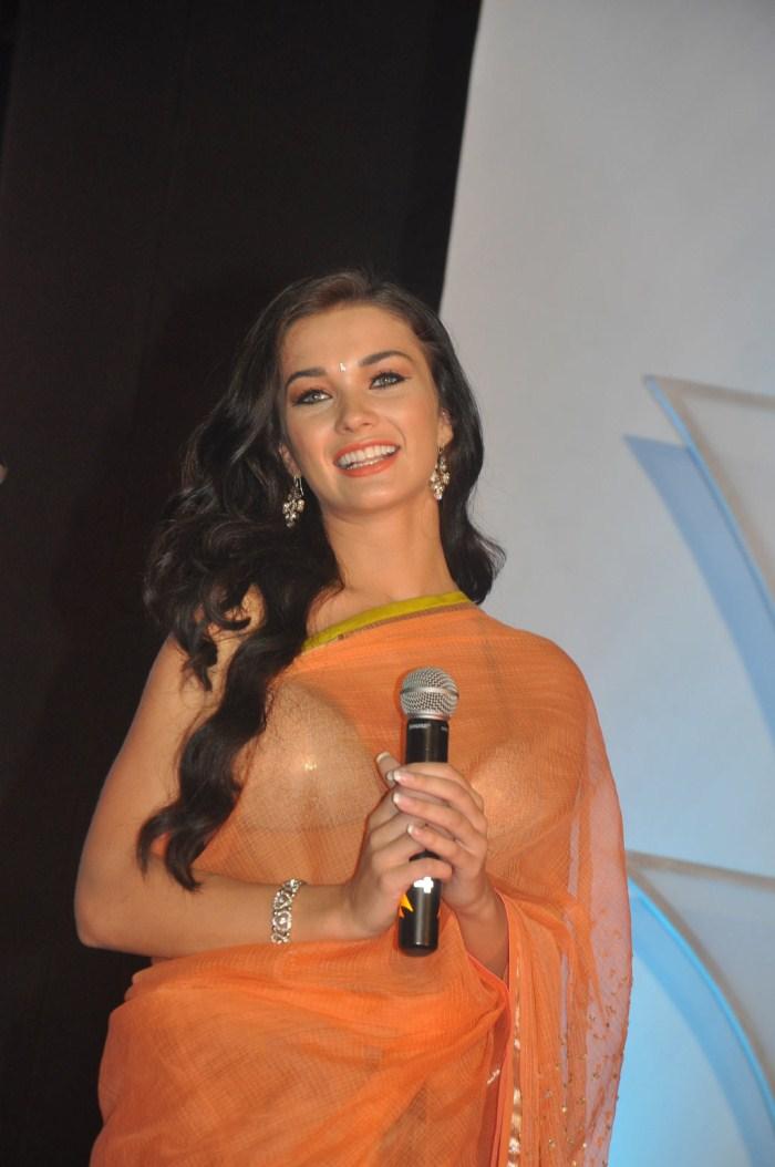 actress_amy_jackson_hot_in_saree_photos_thandavam_audio_release ...