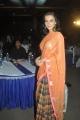Tamil Actress Amy Jackson Orange Saree Photos