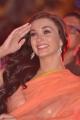 Amy Jackson Saree Hot Stills at Thandavam Audio Release