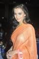 Amy Jackson Hot Saree Stills at Thandavam Audio Release