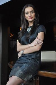 Actress Amy Jackson Images @ I Movie Press Meet