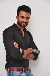Actor Siva @ Anaganaga Oka Chitram Movie Audio Launch Stills