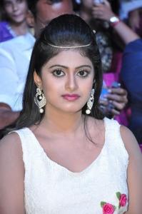 Actress Megha Sri @ Anaganaga Oka Chitram Movie Audio Launch Stills