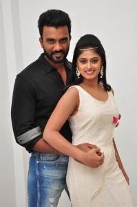 Siva, Megha Sri @ Anaganaga Oka Chitram Movie Audio Launch Stills