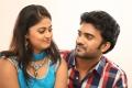 Meghasri, Siva in Anaganaga Oka Chitram Movie Stills