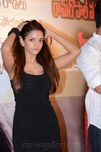 Actress Anaika Soti Hot Stills at Satya 2 Press Meet