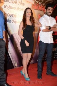 Telugu Actress Anaika Soti Hot Stills at Satya 2 Movie Press Meet
