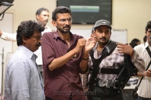 Director Sekhar Kammula @ Anamika Movie Working Stills