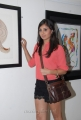 Bhanusri Mehra at Anandapriya Foundation Paint Exhibition in Muse Art Gallery