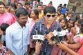 Actor Anandaraj Arranges Maragadha Naanayam Special Show for Childrens Photos